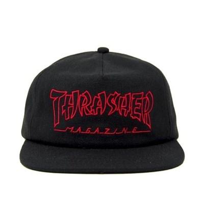 Thrasher кепка CHINA BANKS SNAPBACK BLACK