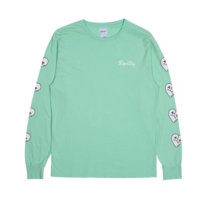 RIPNDIP Лонгслив Love Nerms L/S Mint