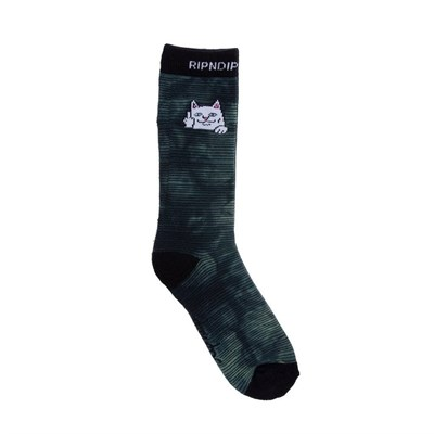 RIPNDIP Носки Peeking Nermal Socks Swamp Dye