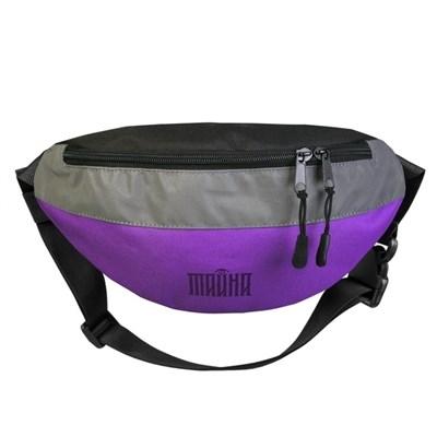 """Поясная сумка """"Тайна"""" OXFORD-REF фиолетовый"""