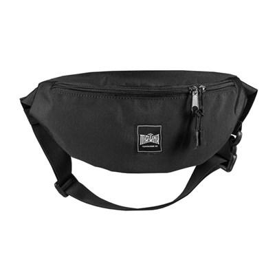 """Поясная сумка """"Тайна"""" Colorblock Черный таслон"""
