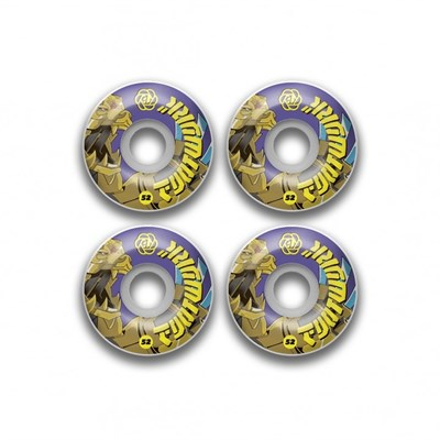 Комплект колес Footwork BEAR BEAST (53 мм 101A Форма Round )