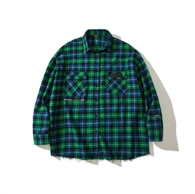 Рубашка YMKA SHIX Detection зеленый цвет