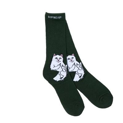 Носки Ripndip Lord Nermal Socks Hunter Green