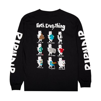 Лонгслив Ripndip Fuck Everything LS black