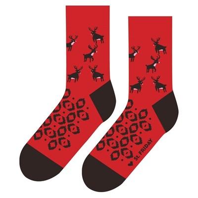 Носки St. Friday socks Рождественские петроглифы