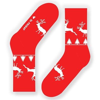 Носки St. Friday socks Экипаж Санта-Клауса