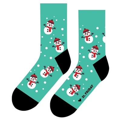 Носки St. Friday socks Снеговичий переполох в стране чудес