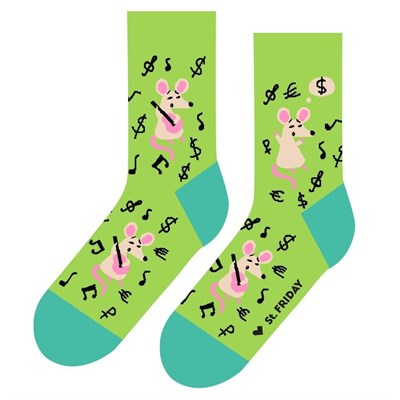 Носки St. Friday socks Крысиные истории в день зарплаты