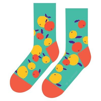 Носки St. Friday socks Мандарины на веточках