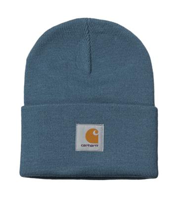 Carhartt WIP шапка acrylic Watch Hat Prusslan Blue