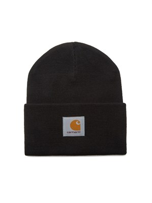 Carhartt WIP шапка Acrylic Watch Hat BLACK