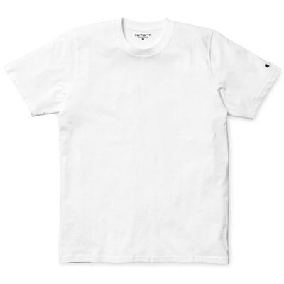 Carhartt WIP футболка S/S Base T-Shirt WHITE / BLACK