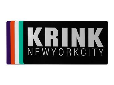 KRINK наклейка Logo в ассортименте