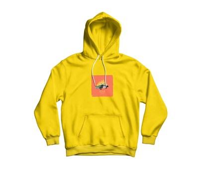 Худи Supertzar - ACAB (желтый)