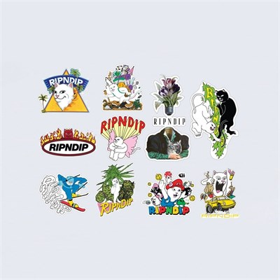 Наклейки Ripndip Holiday 19 Sticker Pack