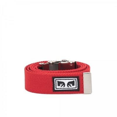 Obey Ремень BIG BOY WEB BELT SCARLET.