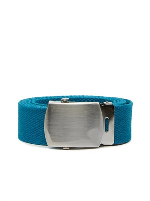Obey Ремень BIG BOY WEB BELT BLUE GREEN.