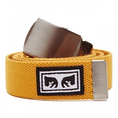 Obey Ремень BIG BOY WEB BELT ENERGY YELLOW.