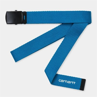 Carhartt WIP Ремень Orbit Belt AZZURO / WHITE