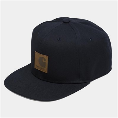 Carhartt WIP Бейсболка Logo Cap DARK NAVY
