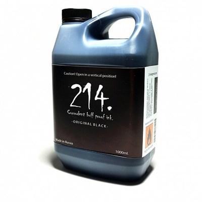 214 Ink заправка черные Original 1000мл
