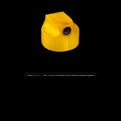 cap Universe Skinny (German skinny) 9022 желтый с черной вставкой