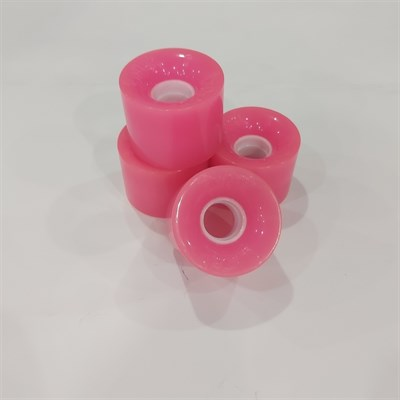 Колеса: Union Virage 59 мм, 83А. цвет розовый