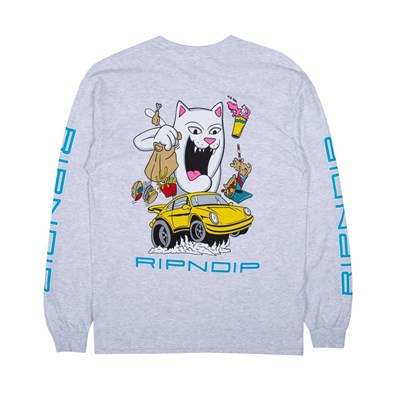 Лонгслив Ripndip Open Roads LS Ash