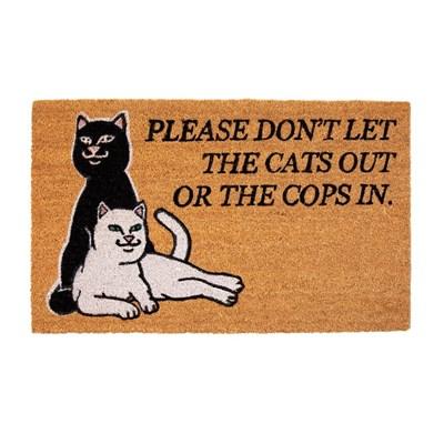 Коврик Ripndip Don't Let The Cops In Door Mat