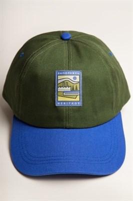 Бейсболка ЗАПОРОЖЕЦ Classic Cap Green/Blue