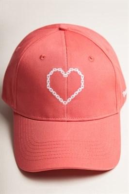 Бейсболка TRUESPIN True Love Red