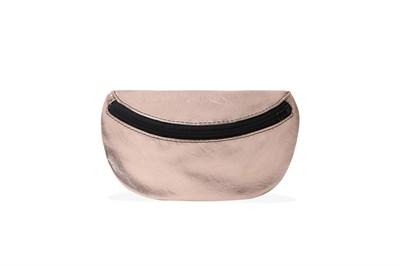 Никита Грузовик сумка на пояс розовое золото не кожа