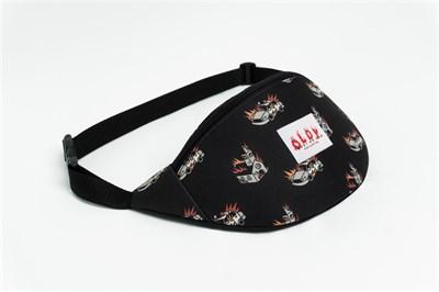Oldy поясная сумка ACAB black