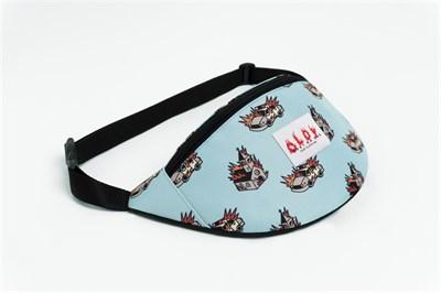 Oldy поясная сумка acab blue