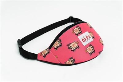 Oldy поясная сумка skate pig pink