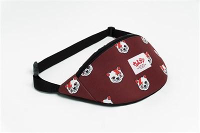 Oldy поясная сумка cat D.Bowie brown