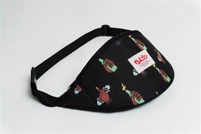 Oldy поясная сумка hell fuck skate black