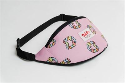 Oldy поясная сумка teeth pink