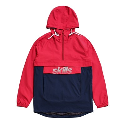Анорак SKILLS Colorblock Red/Navy