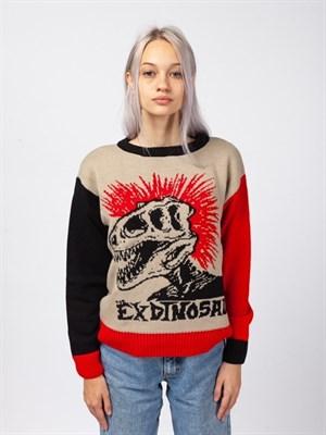 Свитер Край Exdinosaur (Бежевый)