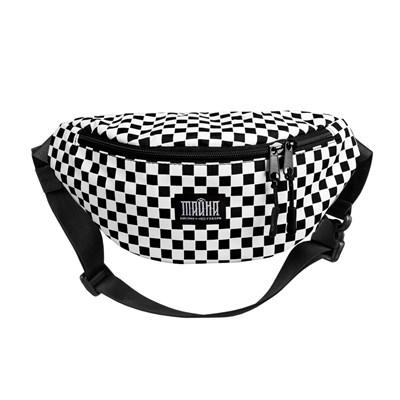Поясная сумка BLOCK-P Шашка черная