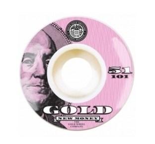 Колеса GOLD WHEELS Dollar 51 mm