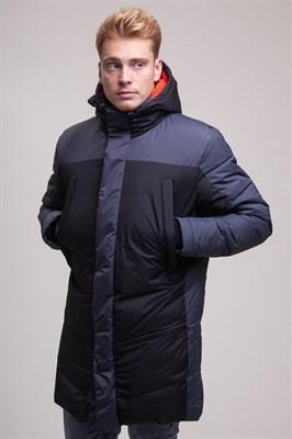 Куртка ЗАПОРОЖЕЦ Telogreika black/grey