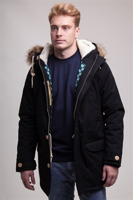 Куртка Запорожец Ditch Parka black