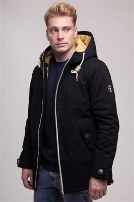 Куртка Запорожец Retro Zipper black