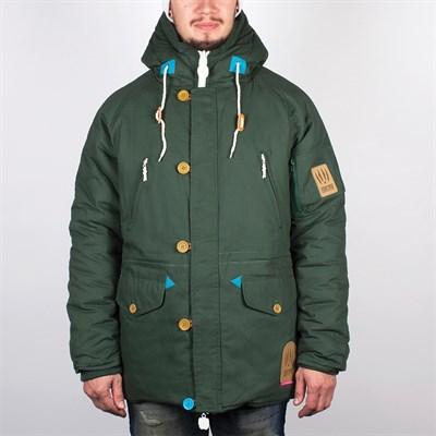 Куртка TRUESPIN Alaska FW14 (Зеленый (Hunter Green/Leopard)