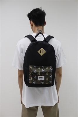 Рюкзак Travel Mask Hania Dragon khaki pocket black
