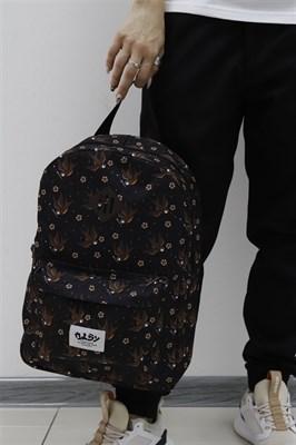Рюкзак Travel Birds black