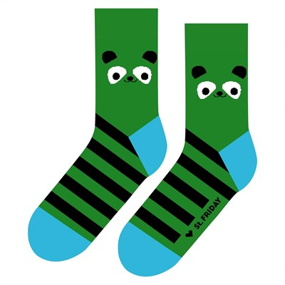 Носки St. Friday socks Бамбук Панда 272-9